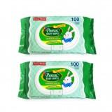 Pureen - Baby Wipes 100's x2 (with Vitamin E & Aloe Vera) *BEST BUY*