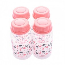 Autumnz - PP Breastmilk Storage Bottles (4 packs) - Lulllaby *Melon Pink*