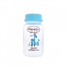 Autumnz - PP Breastmilk Storage Bottles (4 packs) - Giraffe *Turquoise*