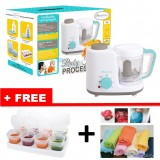 Autumnz - 2-in-1 Baby Food Processor (Steam & Blend) *TURQUOISE* w FREE GIFTS A