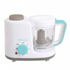 Autumnz - 2-in-1 Baby Food Processor (Steam & Blend) *TURQUOISE* FREE Baby Food Storage Cup 4oz & Food Feeder