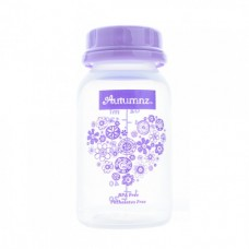 Autumnz - PP B/Milk Storage Bottle (10 pcs w Free Gifts) - Hearts *Lilac*