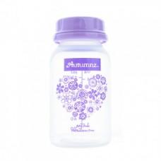 Autumnz - PP Breastmilk Storage Bottles (4 packs) - Hearts *Lilac*