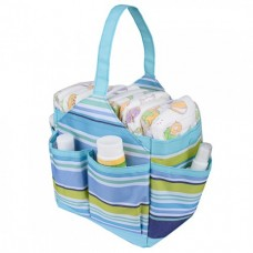 Autumnz Portable Diaper Caddy (Cutezie Blue)