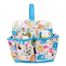 Autumnz Portable Diaper Caddy (Animal Letters)