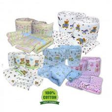 Bumble Bee - 7 Pcs Crib Set (Knit Fabric)