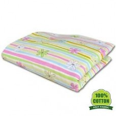 Bumble Bee - Fitted Crib Sheet (Knit Fabric)