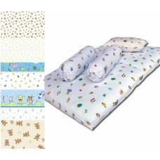 Bumble Bee - Travel Mattress Cover (Knit Fabric)