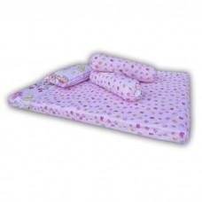 Bumble Bee - Travel Mattress Set (Knit Fabric)