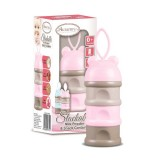 Autumnz - Stackable Milk Powder & Snack Container *Pink*