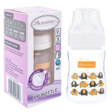 Autumnz - PP Wide Neck Feeding Bottle 6oz/180ml (Single) *Ellie Elephants*