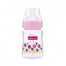 Autumnz - PP Wide Neck Feeding Bottle 6oz/180ml (Single) *Blooming Pink*