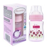 Autumnz - PP Wide Neck Feeding Bottle 6oz/180ml (Single) *Blooming Pink*