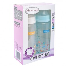 Autumnz - PP Wide Neck Feeding Bottle 10oz/300ml (Twin Pack) *Honey Bee / Universe*