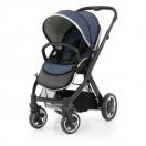 Oyster 2 Black Stroller (Oxford Blue)