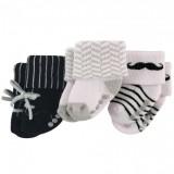 Luvable Friends - Non-Skid Terry Socks 3pk (0-6M) *23194S*