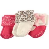 Luvable Friends - Non-Skid Terry Socks 3pk (0-6M) *23197S*