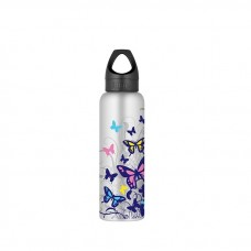 Thermos - Intak Colour Change Bottle 710ML (Butterfly)