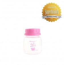 Autumnz - Standard Neck Breastmilk Storage Bottles *2oz* (4 btls) - Rossa *Pink*