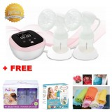 Autumnz - HYBRID DUO Double Electric Breastpump w FREE GIFTS total worth RM79.40