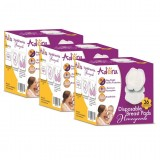Adora - Disposable Breast Pad Honeycomb (36pcs/box) *3 Boxes*
