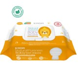 K-MOM - Natural Premium Embo Baby Wet Wipes with Cap (80pcs) *BEST BUY*