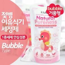 K-MOM - Natural Pureness Feeding Bottle Cleanser 500ml (Refill - Bubble Type) *BEST BUY*
