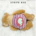 * CuddleMe - Adjustable Training Pants *STRIPE RED*