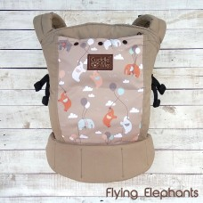 * CuddleMe - Lite Carrier *FLYING ELEPHANTS*