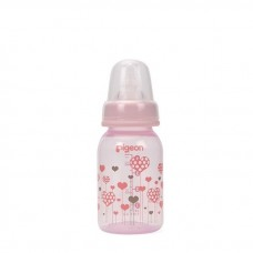 Pigeon - Flexible Clear PP Nursing Bottle 120ML *Hearts*