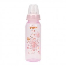 Pigeon - Flexible Clear PP Nursing Bottle 240ML *Floral*