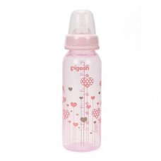 Pigeon - Flexible Clear PP Nursing Bottle 240ML *Hearts*