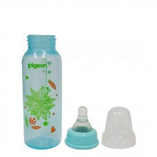 Pigeon - Flexible Clear PP Nursing Bottle 240ML *Leaves*