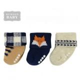 Hudson Baby - Baby Newborn Terry Socks 3pk (0-6M) *54589S*
