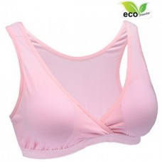 Autumnz - TILIA Bamboo Sleep Bra*w removable cup padding* CARNATION PINK