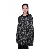 Autumnz POSH Nursing Cover - Paisley *Black*