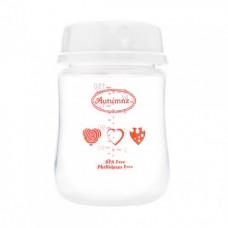 Autumnz - Wide Neck Breastmilk Storage 4 Bottles (5oz) *Red Hearts*