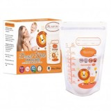 Autumnz -Double Zip Lock Breastmilk Storage Bag (28 bags) *10oz* (NEW)