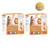 Autumnz -DOUBLE Zip Lock Breastmilk Storage Bag (2 PACKS) *10oz(28 bags)*