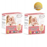 Autumnz -DOUBLE Zip Lock Breastmilk Storage Bag (2 PACKS) *12oz(28 bags)*