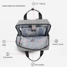 Tigernu - Diaper Bag 3355 (Black)
