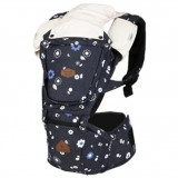 I-Angel - Denim Hip Seat Carrier *Blue Flower*