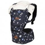 I-Angel - Denim Hip Seat Carrier *Blue Flower*