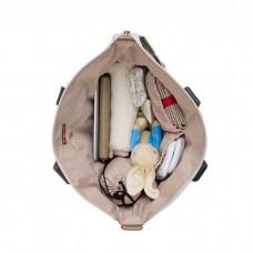 Babymel - Evie Changing Bags (Floral Dot Grey)