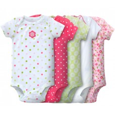 Adorable Bodysuit *GIRL*- 5 pc set *VALUE BUY* - Assorted Design