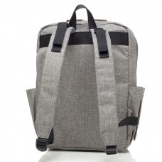 Babymel - George Backpack (Black/Grey)