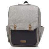 Babymel - George Backpack (Black/Grey)