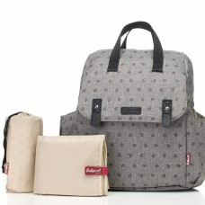 Babymel - Robyn Convertible Backpack (Printed Grey)