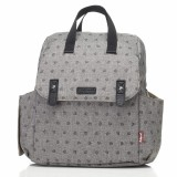 Babymel - Robyn Convertible Backpack (Printed Grey)