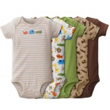 Adorable Bodysuit *BOY*- 5 pc set *VALUE BUY* - Assorted Design
